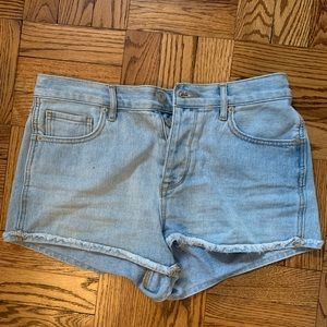 Brandy Melville high waisted jean shorts
